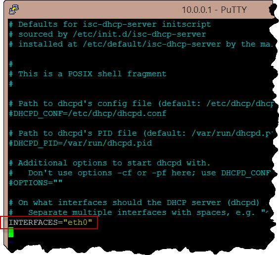 Awasu » Banana Pi gateway: Setting up DHCP