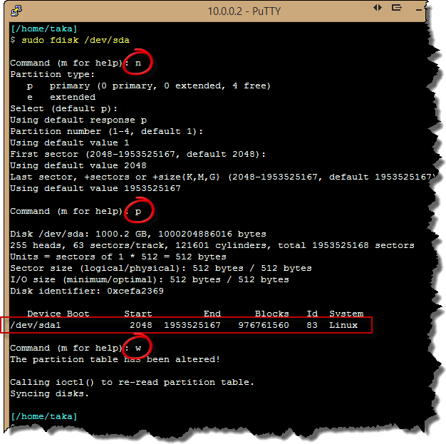 Awasu » Adding a new hard disk to Open Media Vault